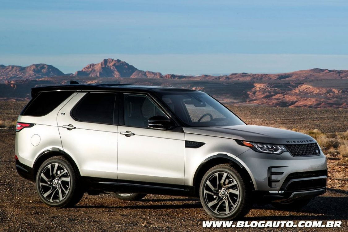 tudo sobre o novo land rover discovery 2018 blogauto. Black Bedroom Furniture Sets. Home Design Ideas
