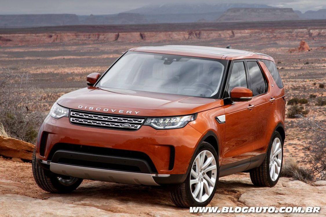 Tudo sobre o novo Land Rover Discovery 2018