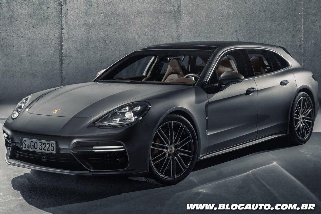 Porsche Panamera Sport Turismo chega como a perua da linha