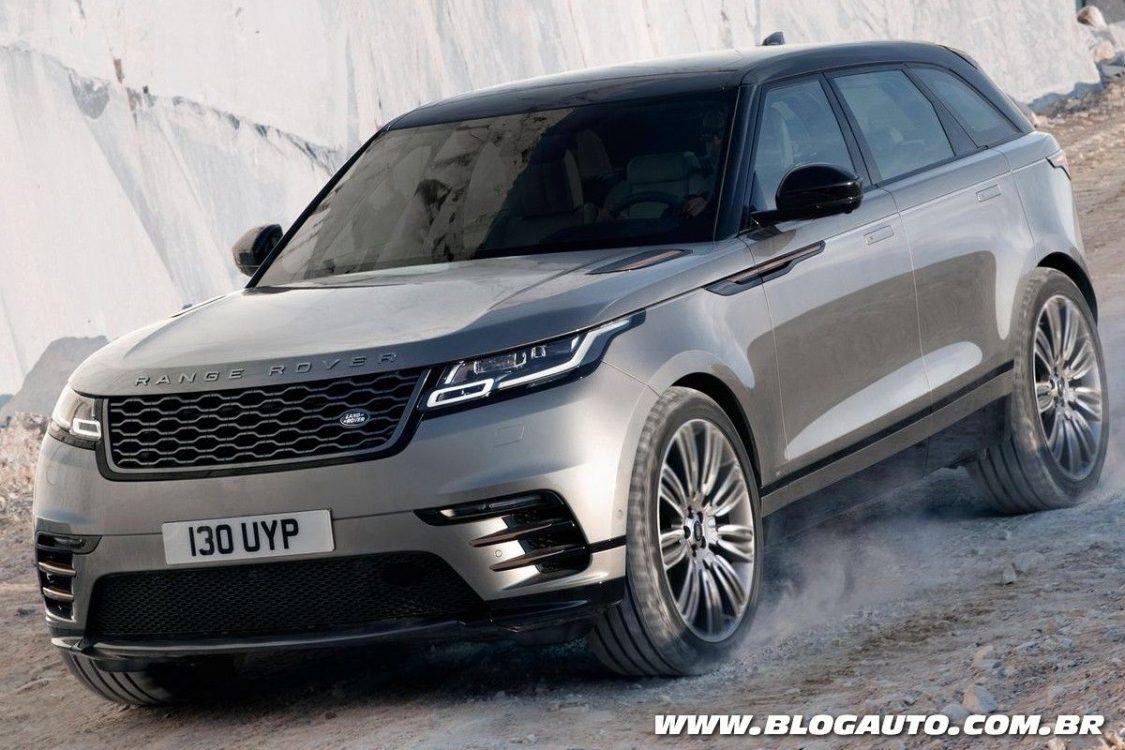 Range Rover Velar chega em novembro no Brasil