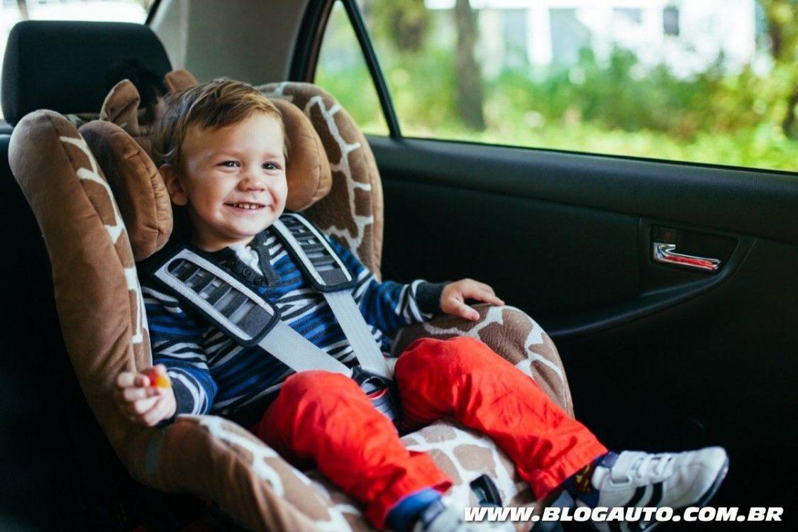Dicas para transportar crianças em veículos