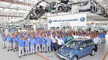 Exemplar número 200.000 do Volkswagen up!