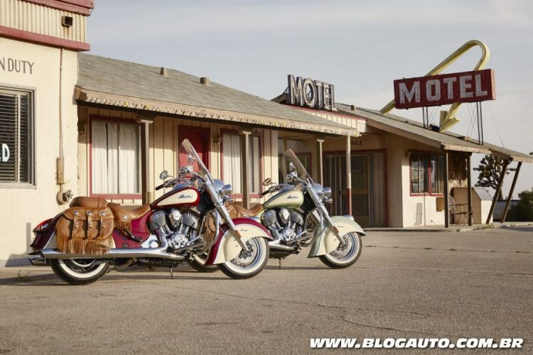 Indian Chief Classic e Chief Vintage 2017