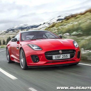 Jaguar F-Type 2018 com motor 2.0 Ingenium
