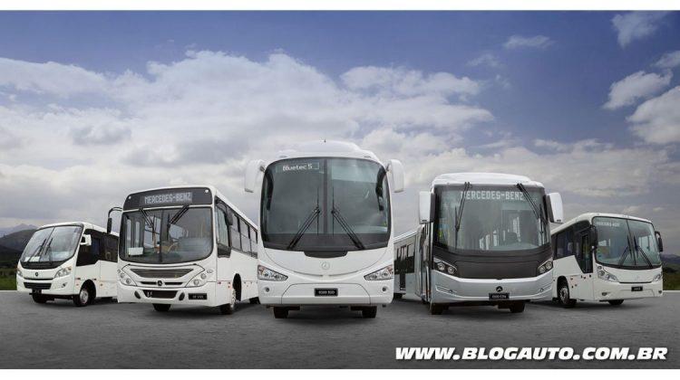 Linha de ônibus Mercedes-Benz