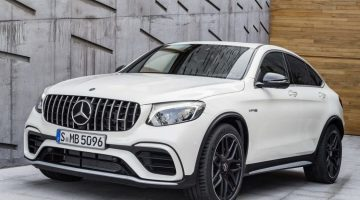 Mercedes-AMG GLC 63 Coupé 2018