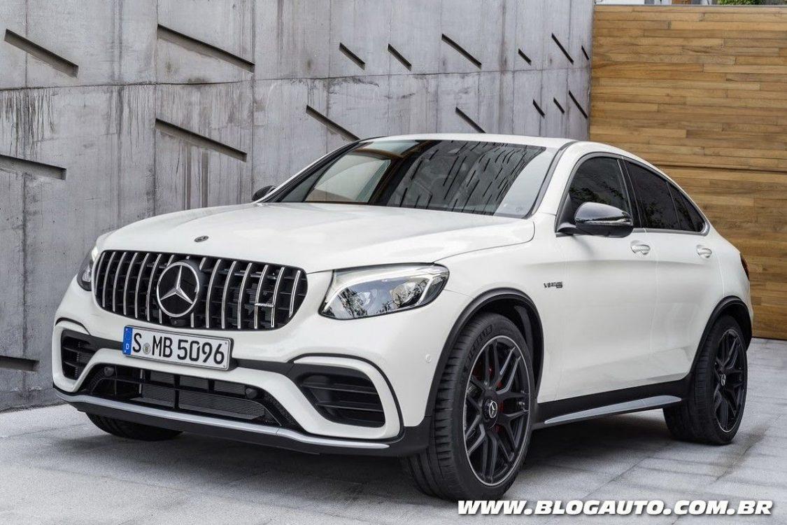 Mercedes-AMG GLC 63 2018 traz novo visual e V8 de 510 cv