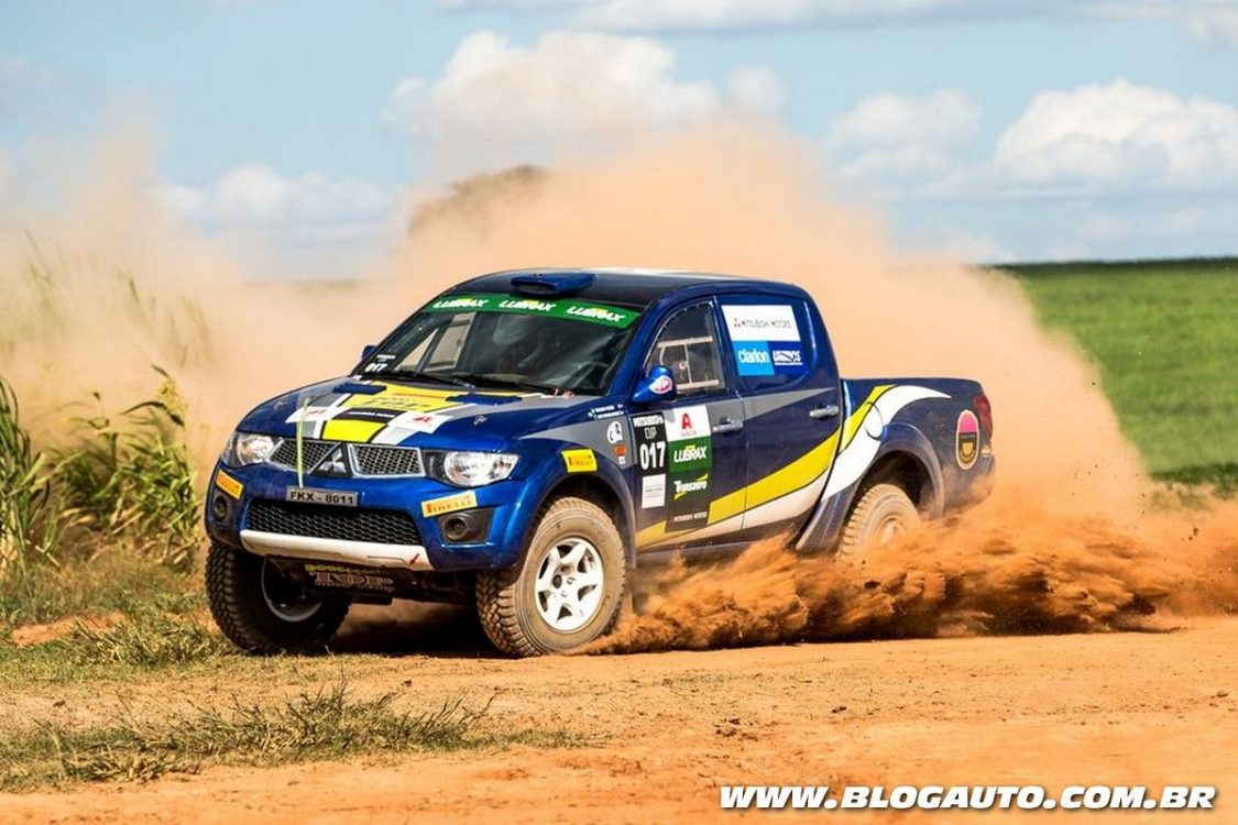Rali de velocidade Mitsubishi Cup inicia sua 18ª temporada