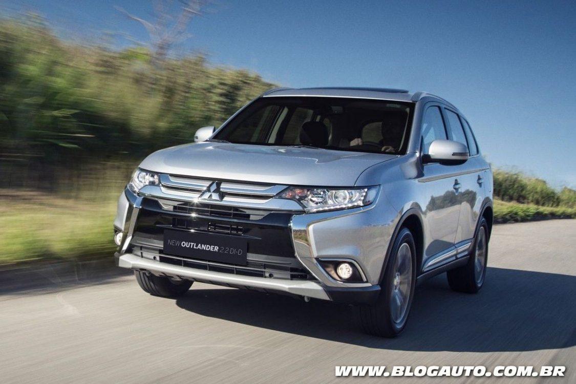 Mitsubishi Outlander Comfort estreia com sete lugares