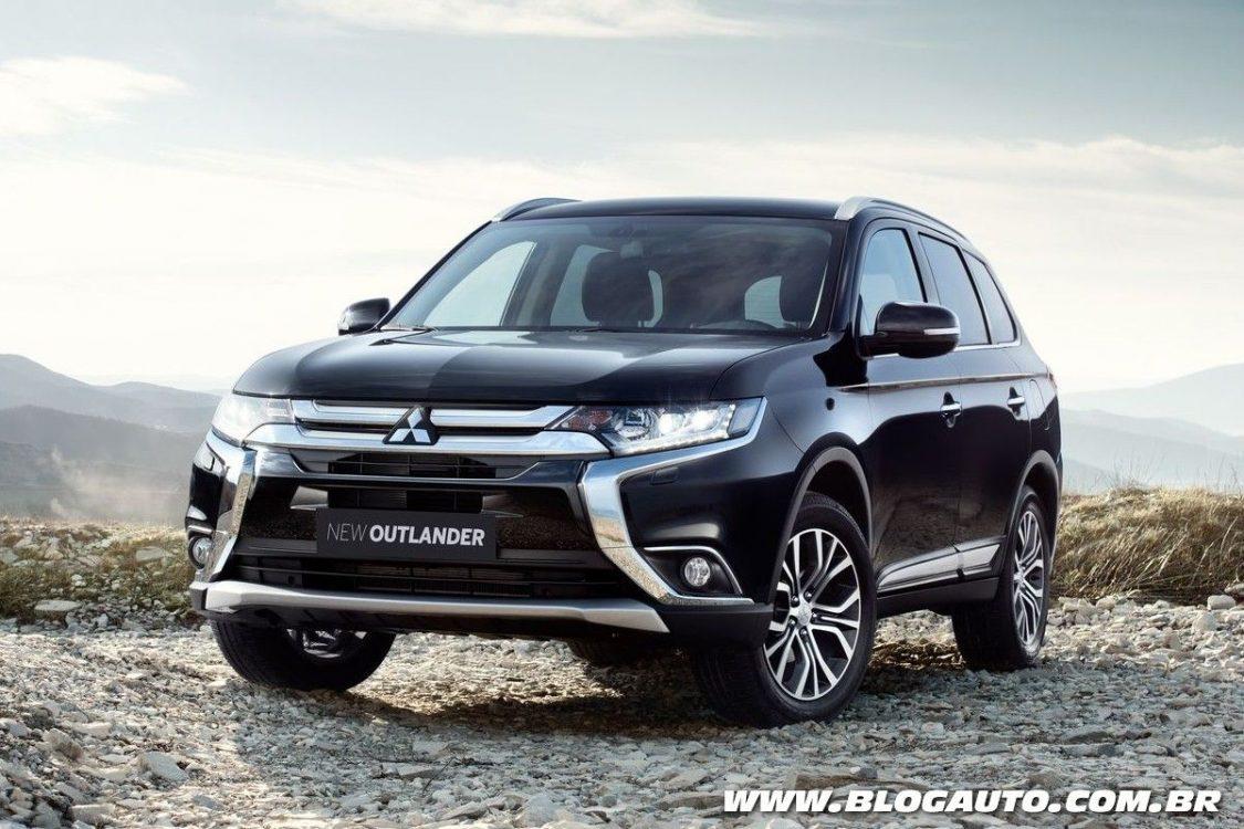 Mitsubishi Outlander 2018 traz novidades por R$ 135.990 - BlogAuto