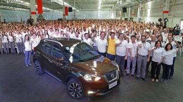 Primeiro Nissan Kicks produzido em Resende (RJ)