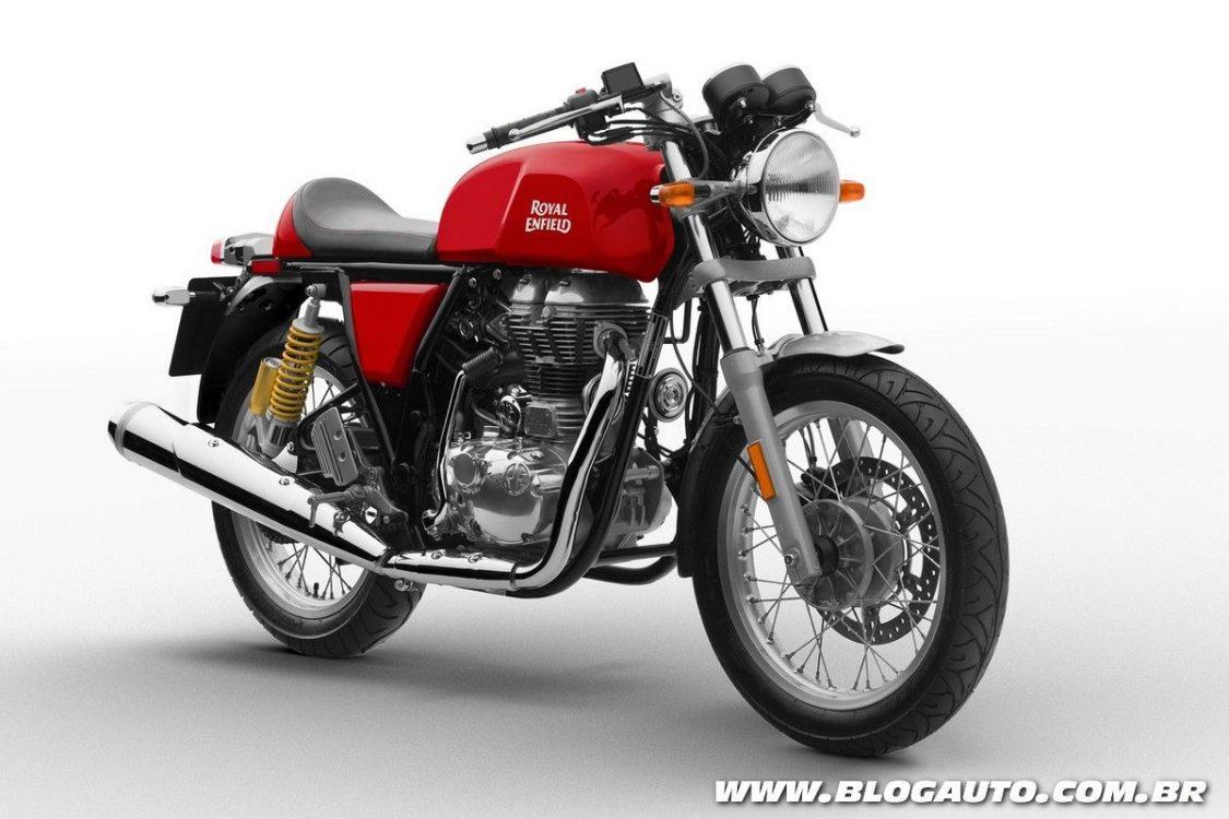 Royal Enfield é anunciada no Brasil com três motocicletas