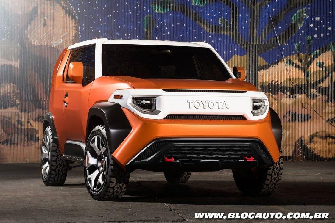 Toyota FT-4X Concept estreia como jipe e pode ser produzido
