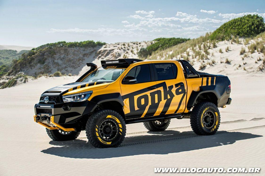 Toyota Hilux Tonka Concept oferece maior vocação off road