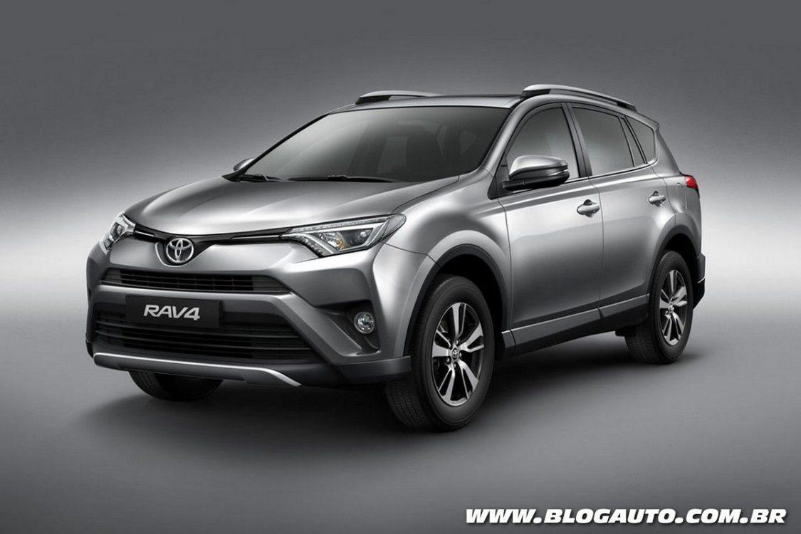 Toyota RAV4 2018 traz nova versão de entrada por R$ 130 mil