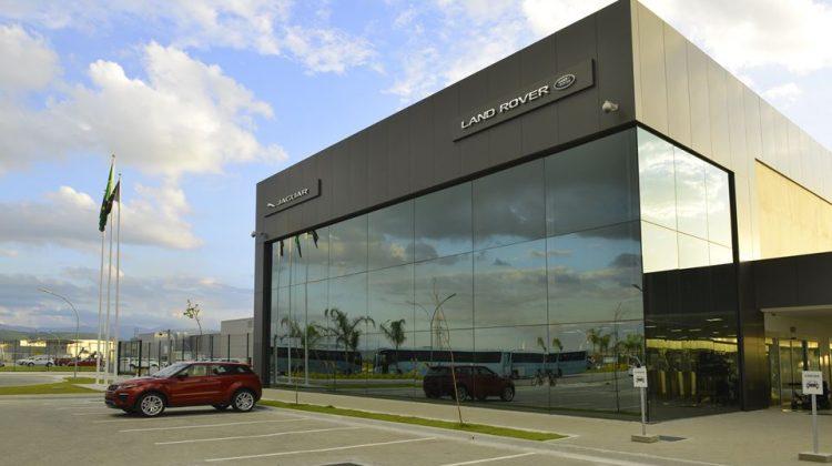 Unidade fabril da Jaguar Land Rover em Itatiaia