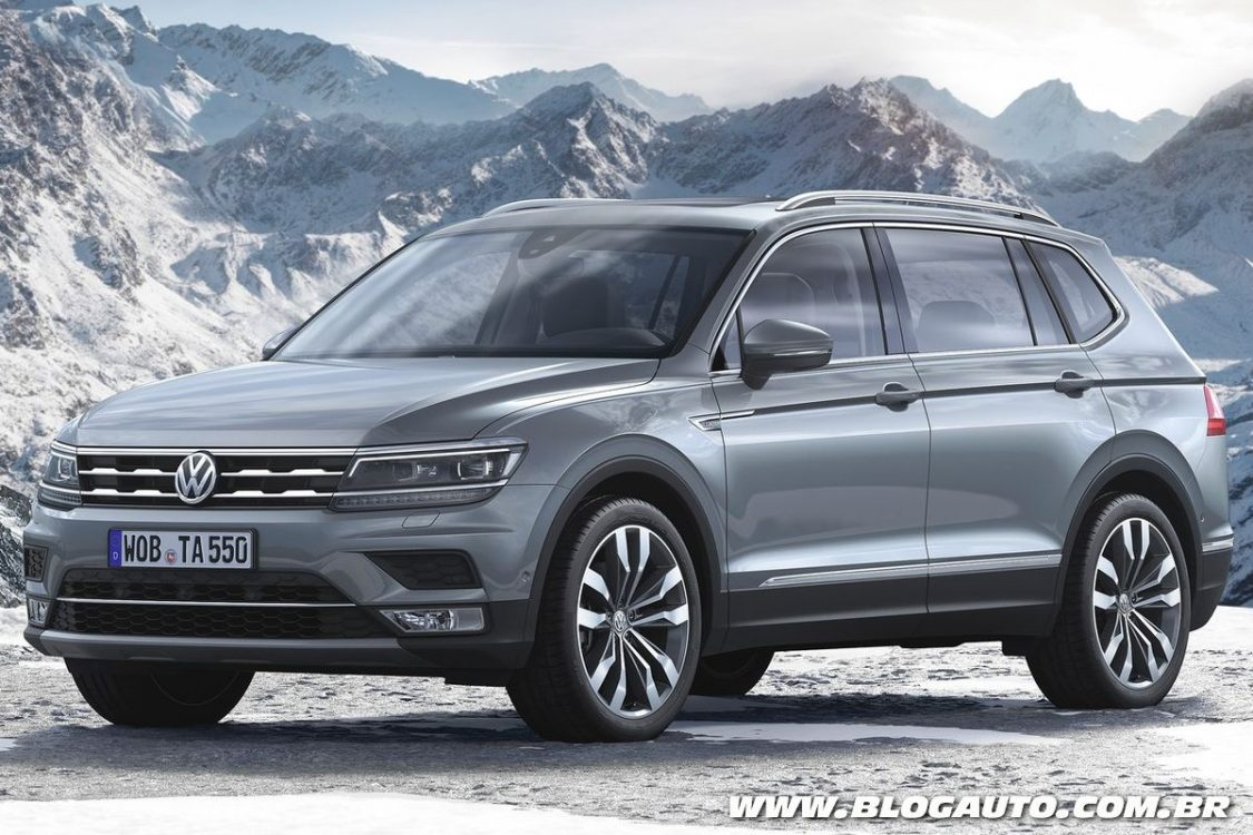 volkswagen tiguan xxl 2017 2018 2019 ford price release date reviews. Black Bedroom Furniture Sets. Home Design Ideas