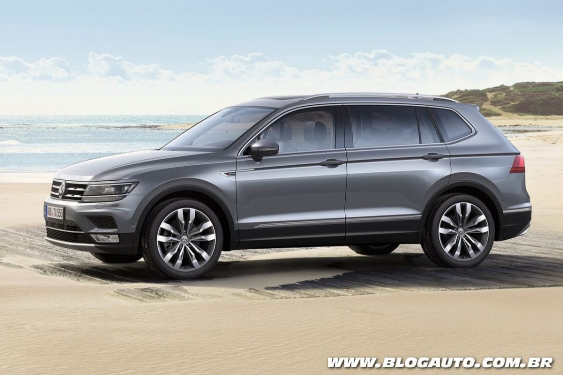 tudo sobre o volkswagen tiguan allspace 2018 blogauto. Black Bedroom Furniture Sets. Home Design Ideas