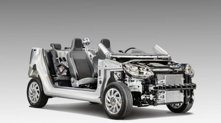 Estrutura do Volkswagen up! 2018