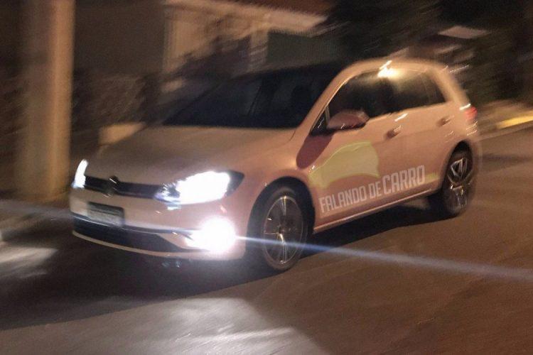 Flagra do Volkswagen Golf 2018