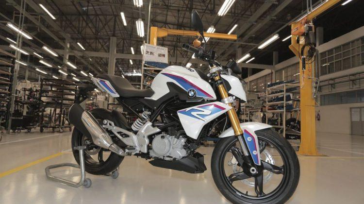 BMW G 310 R na fábrica de Manaus (AM)