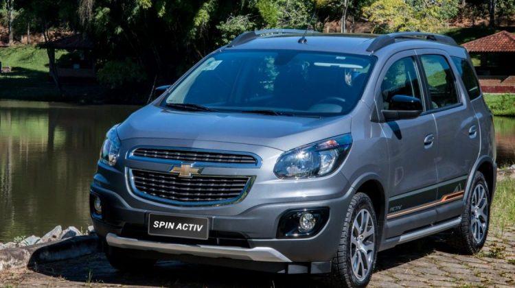 Chevrolet Spin 2018 na versão Activ