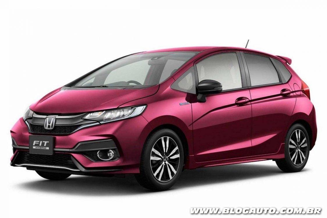 Honda Fit 2018 chega em setembro ao Brasil - BlogAuto