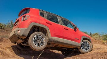 Jeep Renegade no Jeep Day