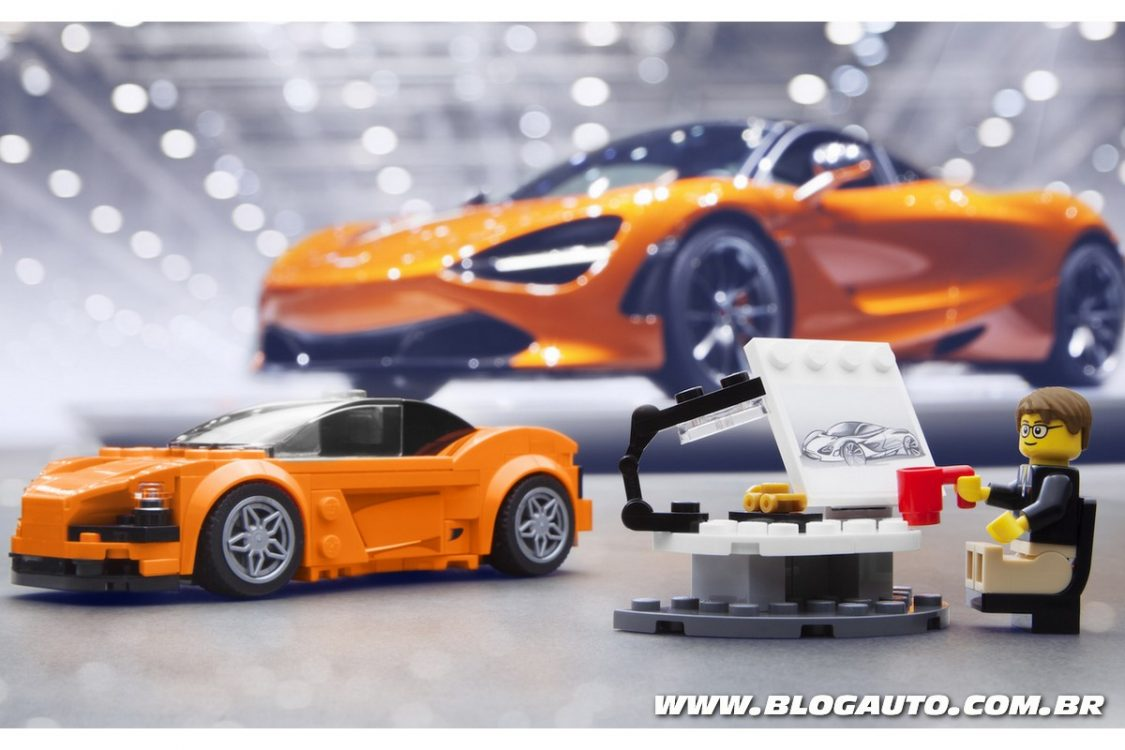 McLaren 720S de Lego será vendido no Brasil