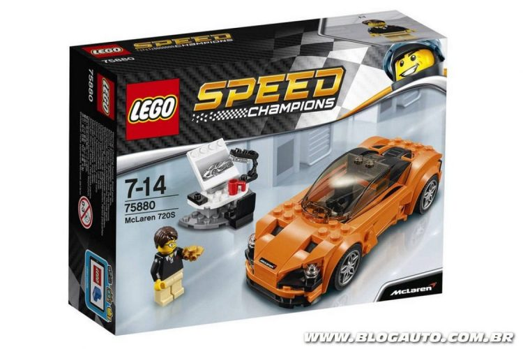 McLaren 720S de Lego