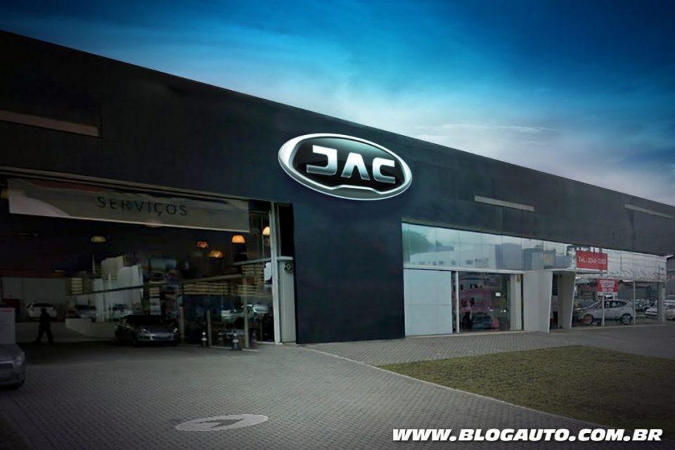 Nova fachada da JAC Motors