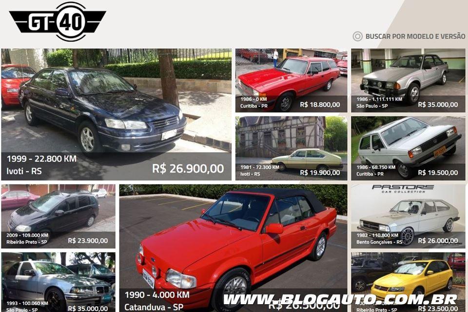 O classificado para quem é apaixonado por carro: GT40