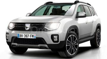 Projeção do novo Renault Duster 2018