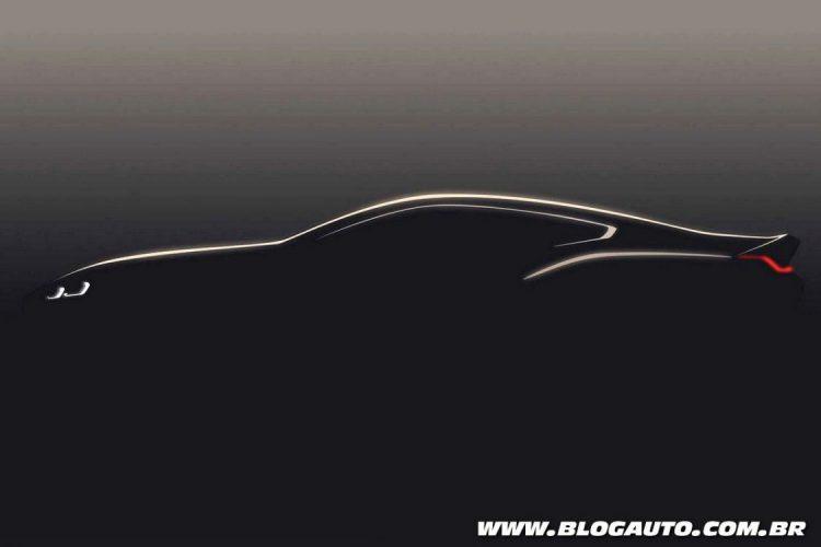 Teaser do BMW Série 8 2018