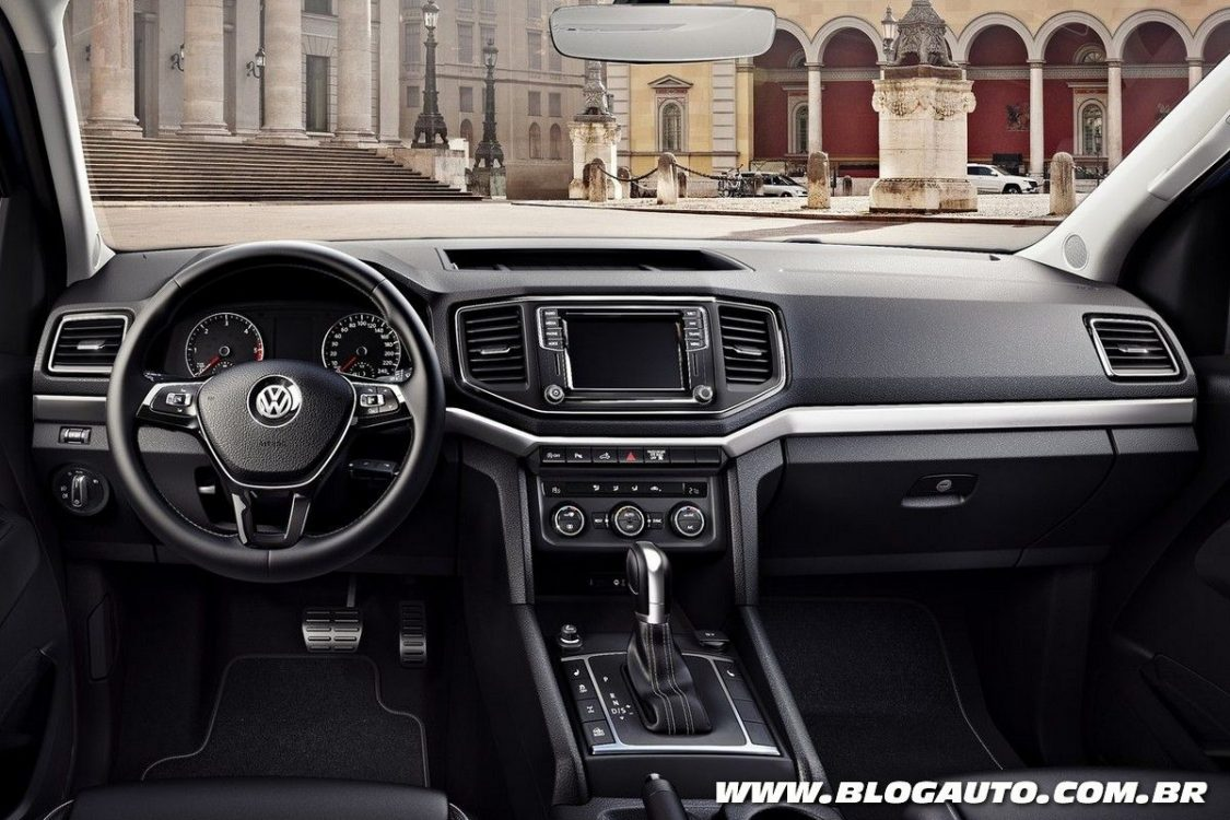 volkswagen amarok v6 2018 j oferecida na argentina blogauto. Black Bedroom Furniture Sets. Home Design Ideas