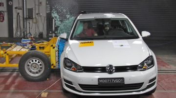 Volkswagen Golf nacional no Latin NCAP
