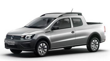 Volkswagen Saveiro 2018 na versão Robust Cabine Dupla
