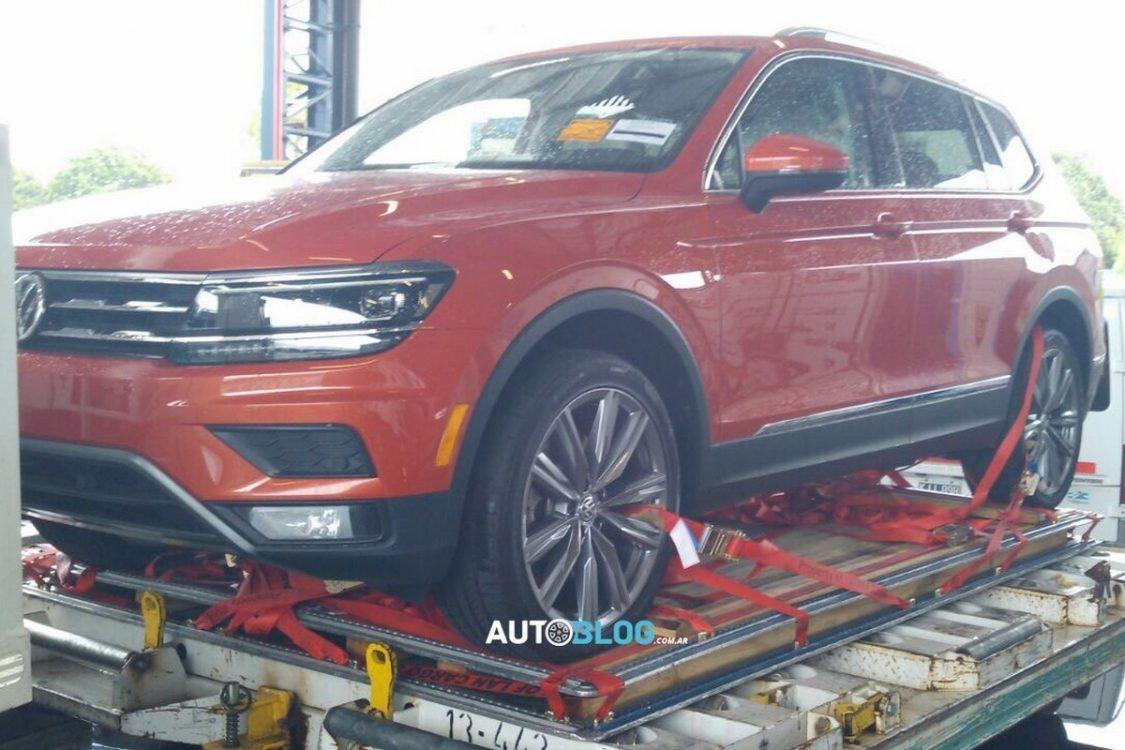 Volkswagen Tiguan Allspace será mostrado em Buenos Aires