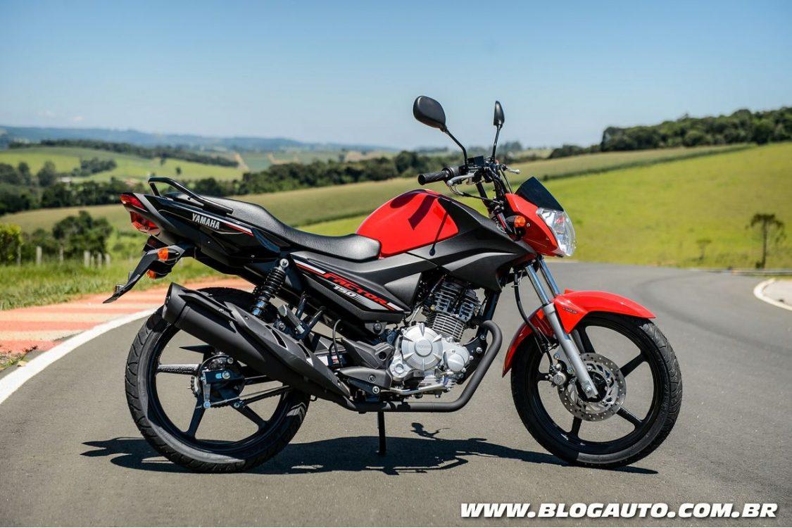 Yamaha Factor 150 recebe freios UBS por R$ 8.890