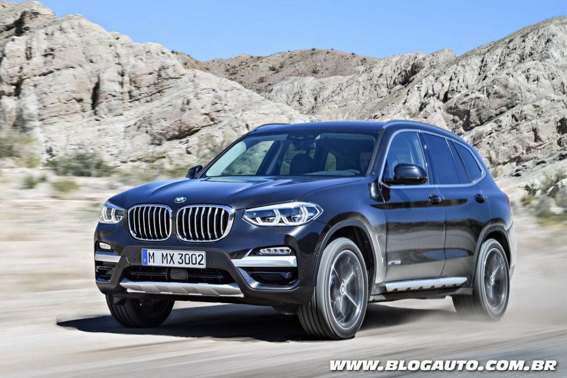BMW X3 nacional chega por R$ 309.950