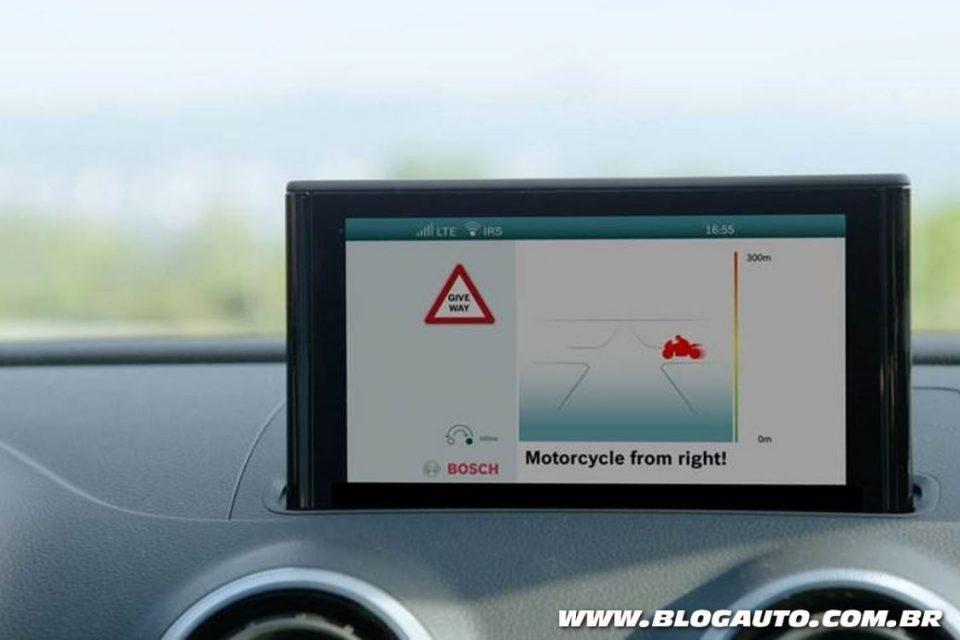 Troca de informações entre veículos acontece em questão de milissegundos