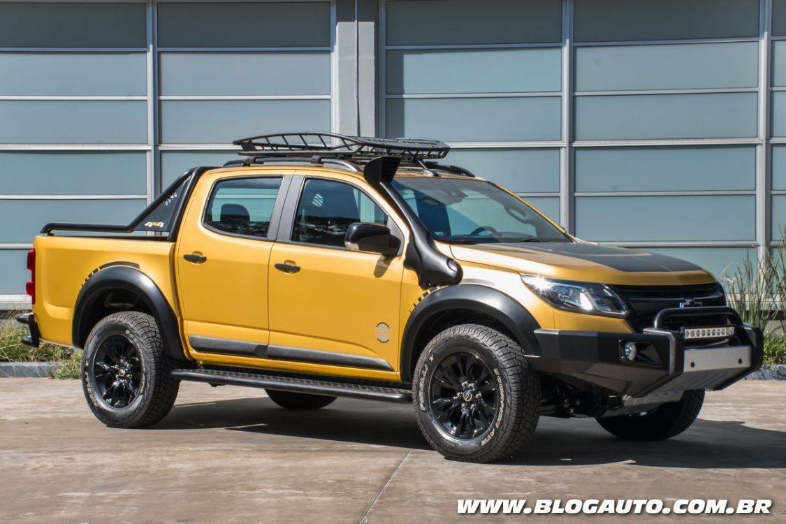 Chevrolet S10 Trailboss feito pela BTS aparece em Buenos Aires