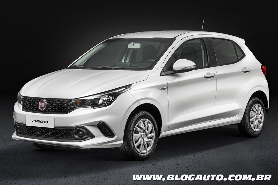 Fiat Argo 2019 agora a partir de R$ 44.990