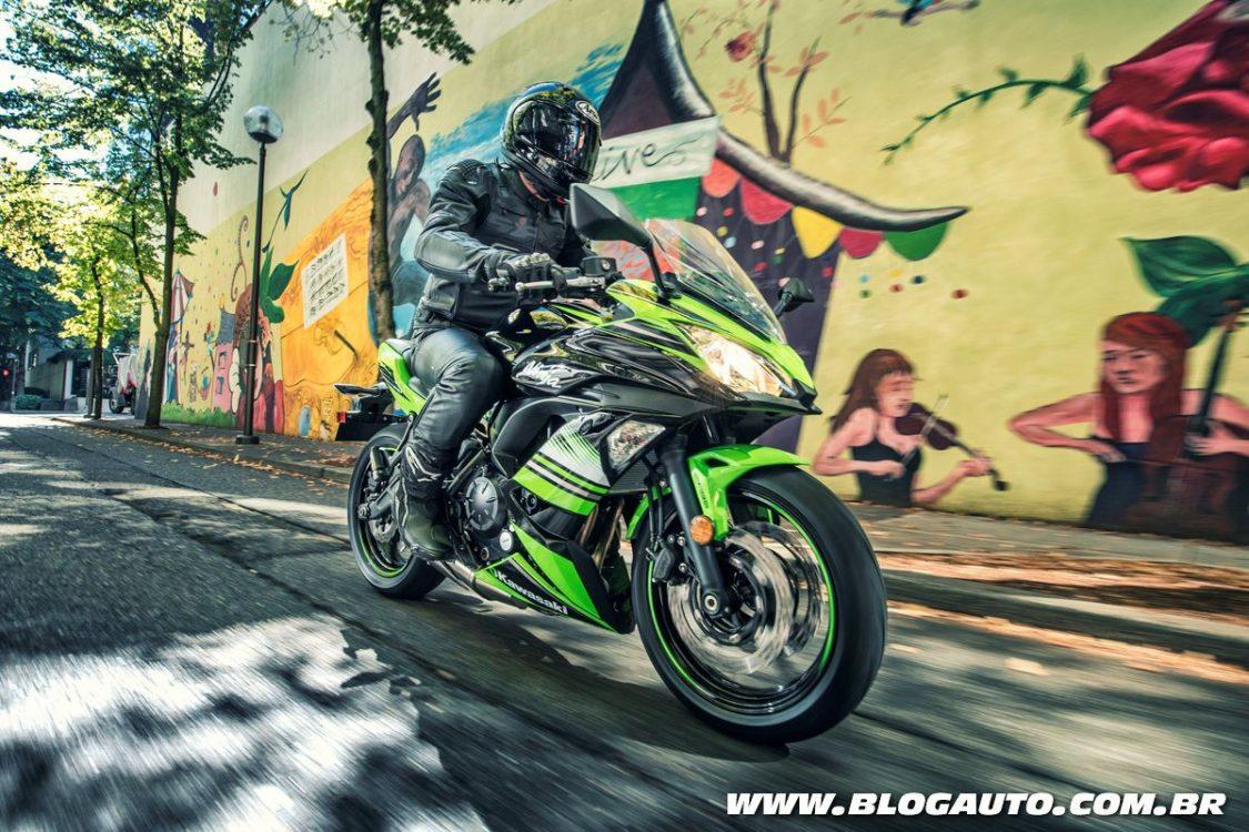 Kawasaki Ninja 650 ABS e Ninja 1000 são renovadas no Brasil