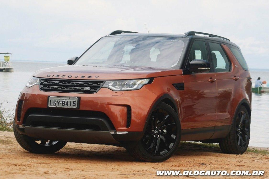 Land Rover Discovery 2018 tem vendas iniciadas no Brasil