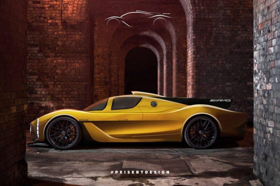 Projeção do Mercedes-AMG Project One