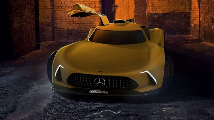 Projeção do Mercedes-AMG Project One