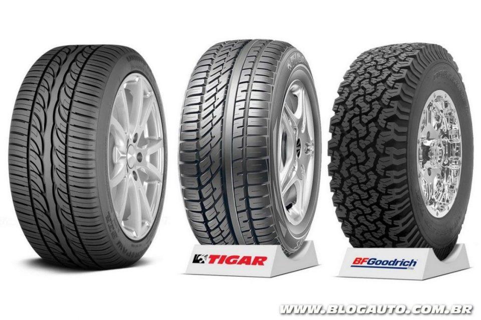 Michelin Uniroyal, Tigar e BFGoodrich