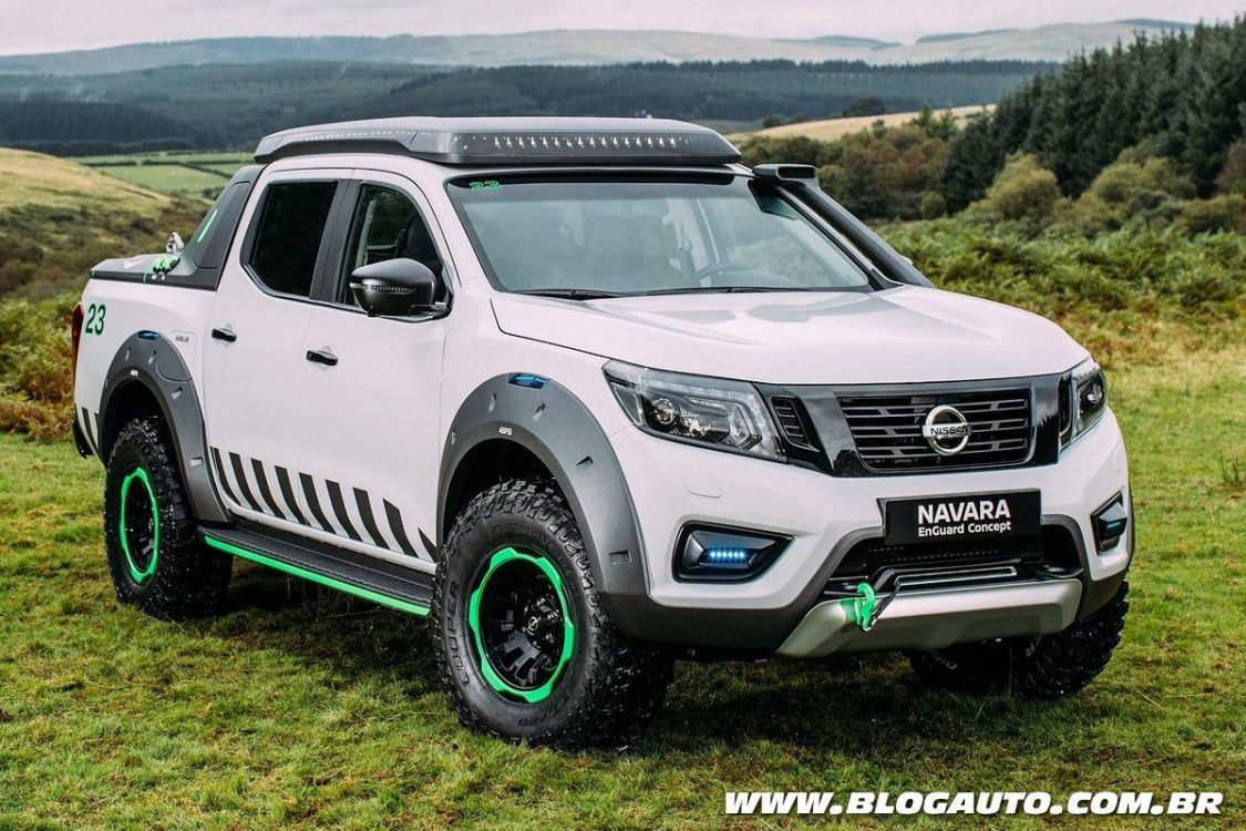 Nissan Frontier de resgate será mostrada em Buenos Aires