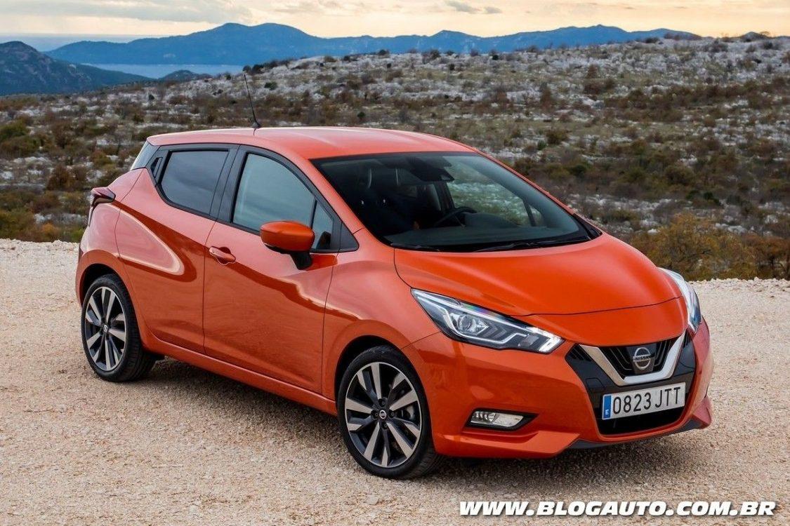 Nissan pode vender novos March e Qashqai no Brasil - BlogAuto